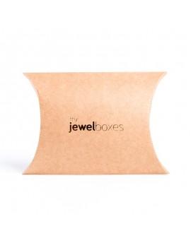 caja carton kraft para joyeria y bisuteria