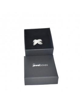 Caja de cartón para anillo grande de joyeria o bisuteria WAS12