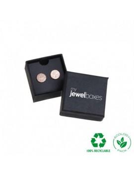 Caja ecológica de cartón para pendientes de joyeria y bisuteria WAS1 ECO