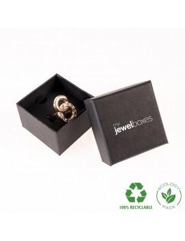 Caja Ecológica de cartón para anillo o sortija de joyería y bisutería WAS2 ECO
