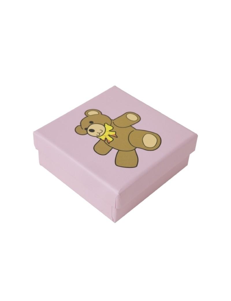 Caja de carton infantil y bebes para pendientes y conjunto BAB3
