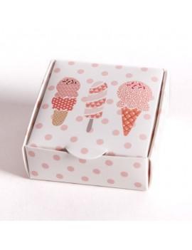 Caja carton multiusos para joyeria infantil y de bebes SCH1
