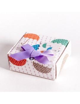 Caja carton multiusos para joyeria infantil y de bebes SCH3