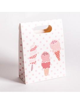 Bolsa de carton para joyeria infantil y de bebes BSCH1