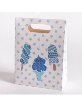 Bolsa de carton para joyeria infantil y de bebes BSCH2