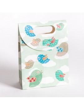 Bolsa de carton para joyeria infantil y de bebes BSCH4