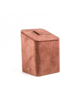 Expositor polipiel o ante alta calidad para anillo o sortija de joyeria