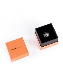 Caja de carton para anillo TEX2