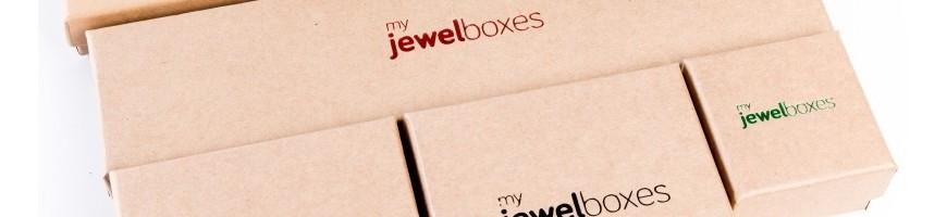 Cajas de carton kraft para joyeria bisuteria relojeria y joyas