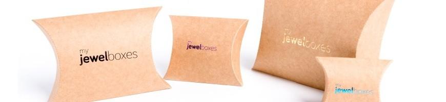 Cajas de cartón Kraft para joyeria y bisuteria