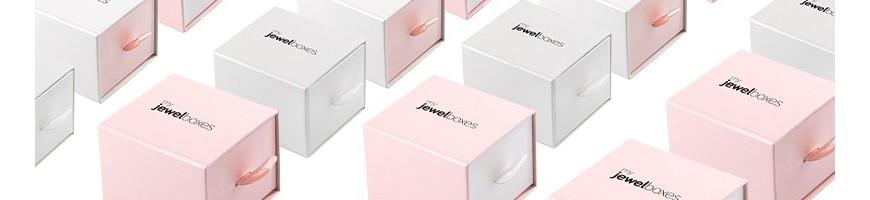 cajas de carton con tirador tipo cajoncito para joyeria y relojeria